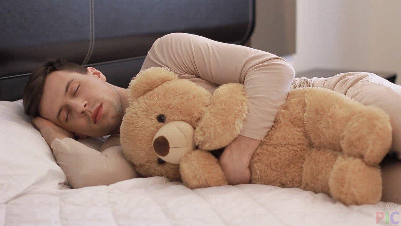 Пациент, расслабившись и избавившись от болей, ушел в предвкушении крепкого сна